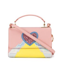 Sophie Hulme   Heart And Lightning Parker Bag Calf Leather/Patent