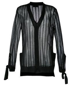G.V.G.V. | Crochet Bow Cardigan Xs Polyester/Lyocell