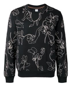 Paul Smith | Embroidery Sweatshirt Large Cotton