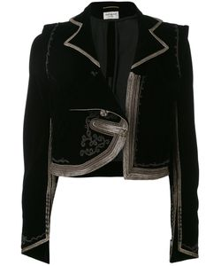 Saint Laurent | Tone Trim Jacket