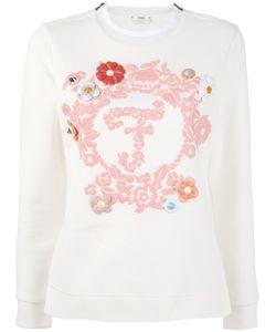 Fendi   Long-Sleeved Embroidered Sweatshirt