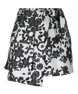 Christian Wijnants | Asymmetric Print Skirt
