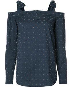 Saloni | Cold Shoulder Top 0 Cotton/Polyester