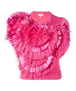 Delpozo | Fringe Embellished Knitted Top