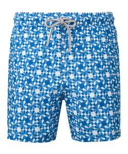 Capricode | Printed Swim Shorts Men S