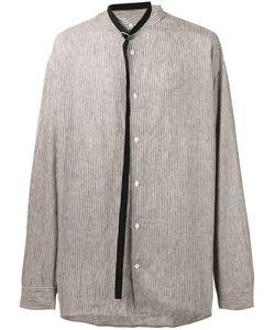 Raf Simons | Belt Tie Striped Shirt Men
