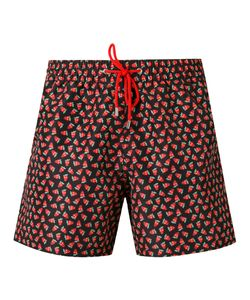 Paul Smith | Printed Drawstring Swim Shorts Xl Polyester/Recycled