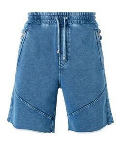 Just Cavalli | Elasticated Waist Jean Shorts Size Xl