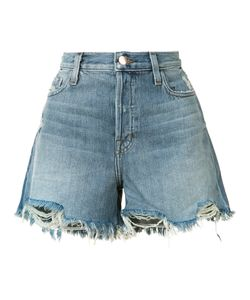 J Brand | Frayed Denim Shorts