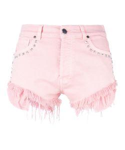 Gaelle Bonheur | Studded Denim Shorts