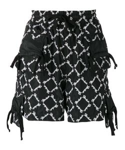 KTZ   All-Over Embroidered Shorts M