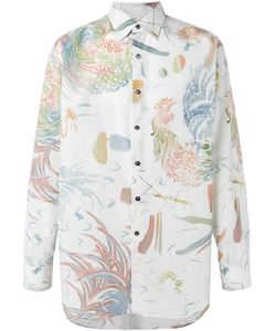 Salvatore Ferragamo | Watercolour-Print Shirt Size Medium