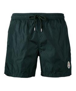 Moncler   Logo Plaque Swim Shorts Men