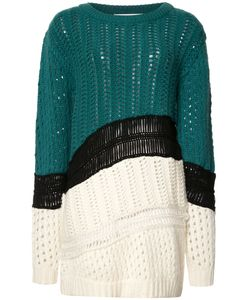 Prabal Gurung | Chunky Knit Colour Block Jumper Xl