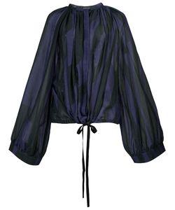 Ann Demeulemeester | Pleated Blouse Size