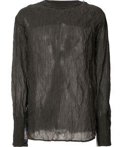 Yang Li | Semi-Sheer Longsleeved T-Shirt Size 46