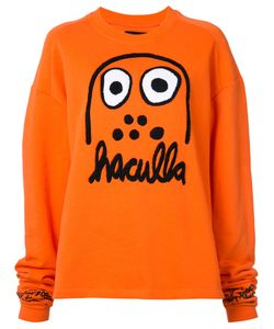 Haculla | Logo Embroidered Oversize Top Size Xxs