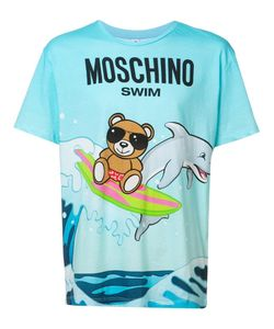Moschino | Teddy And Dolphin T-Shirt Xxl Cotton