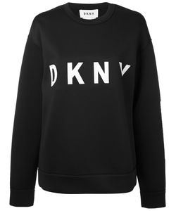 Donna Karan | Logo Sweatshirt Xs