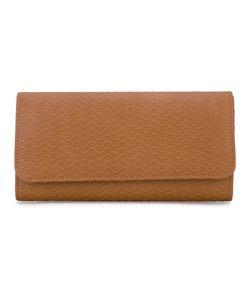 Zanellato | Large Wave Embossed Wallet