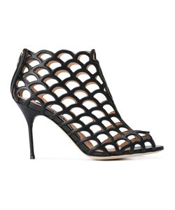 Sergio Rossi | Cut Out Heeled Sandals