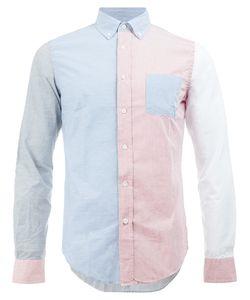 Wooster + Lardini   Colour Block Shirt Size Medium