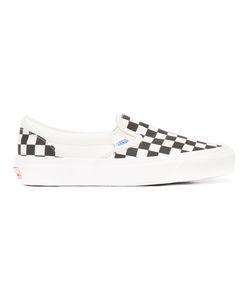 Vans   Check Board Slip-On Sneakers Size 6