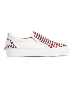 Buscemi | Crossed Slip-On Trainers 37