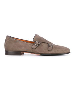 Santoni | Buckled Oxford Shoes 11