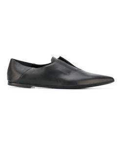 Rocco P. | Rocco P. Pointed Slipper Shoes Size 40 Calf Leather/Leather/Foam