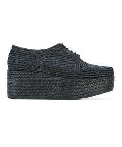 Robert Clergerie | Pinto Platform Lace-Up Shoes Size 39