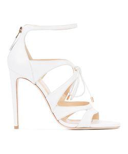 Chloe Gosselin | Lace-Up Stiletto Sandals