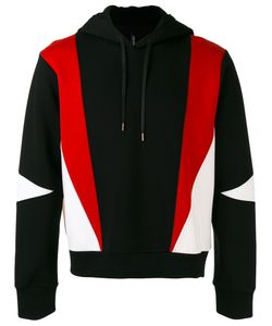 Neil Barrett | Color Block Hoodie Size Xxl