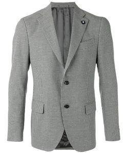 Lardini | Houndstooth Pattern Blazer Size 56