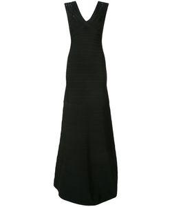 Hervé Léger   Sequin Shoulder Bandage Dress