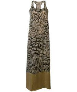 Uma Wang | Printed Sleeveless Midi Dress