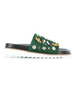 Toga Pulla   Embellished Slider Sandals Size 38