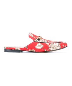 Gucci   Printed Princetown Slippers Size 6.5