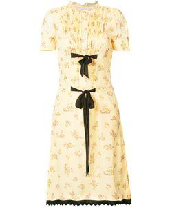 Coach | Printed Ribbon Tie Dress Women