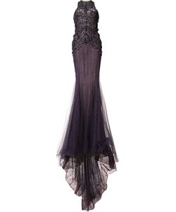 Marchesa | Embellished Fitted Gown
