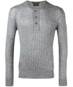 Tom Ford   Ribbed Buttoned Jumper