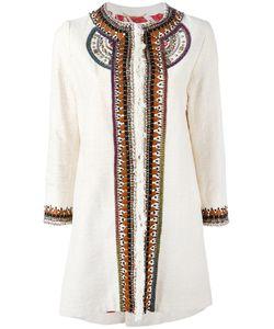 Bazar Deluxe | Embellished Trim Coat Size
