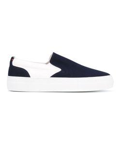 Wooster + Lardini | Contrast Slip-On Sneakers Men