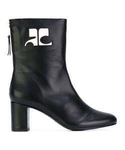 Courrèges   Logo Patch Ankle Boots