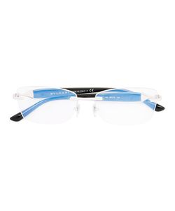BVLGARI | Square Frame Glasses Acetate/Metal