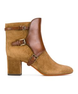 Santoni | Buckled Ankle Boots 38.5