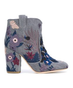 Laurence Dacade | Embroidered Ankle Boots Size 38.5