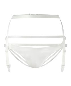 Ikonostas | Suspender Belt Briefs Small Silk