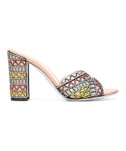 Rene Caovilla | René Caovilla Embroidered Sandals 39