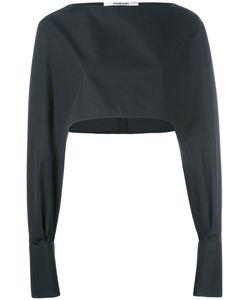Chalayan | Cropped Cuff Detail Blouse Size